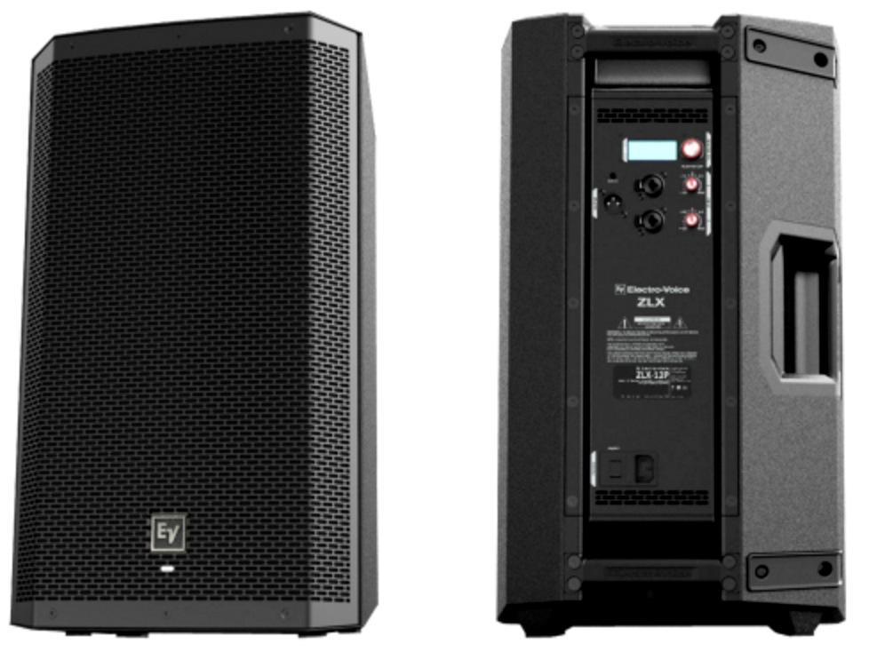 2 x Electro Voice ZLX 12P