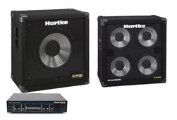 Amp: Hartke 350W amp with 410XL & 115XL