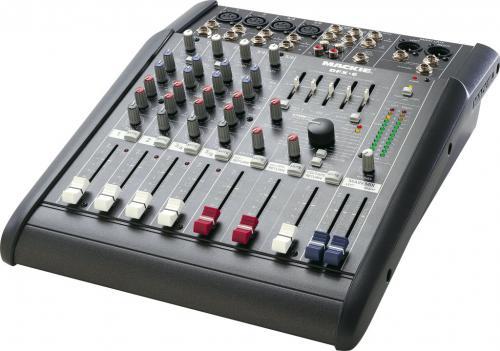 Mixer: Mackie DFX6 mixing desk