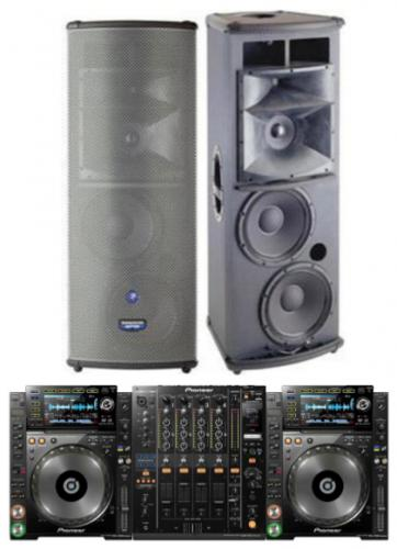 DJ Pack - Mackie SA1232 with CDJ2000's and DJM900