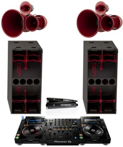 DJ Pack - Void Air Motion System with Pioneer NXS2