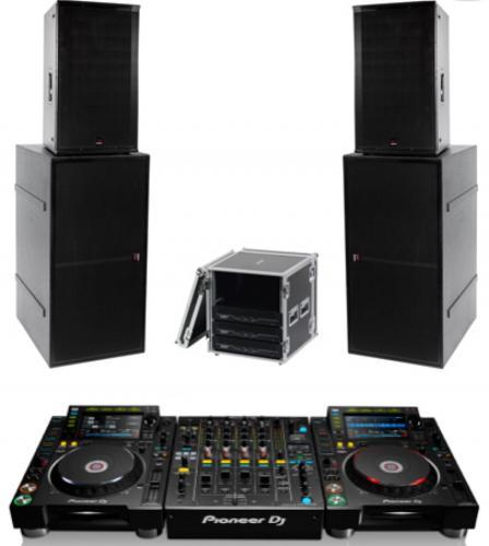 DJ Pack - Void Stasys 4 system with Pioneer Nexus 2