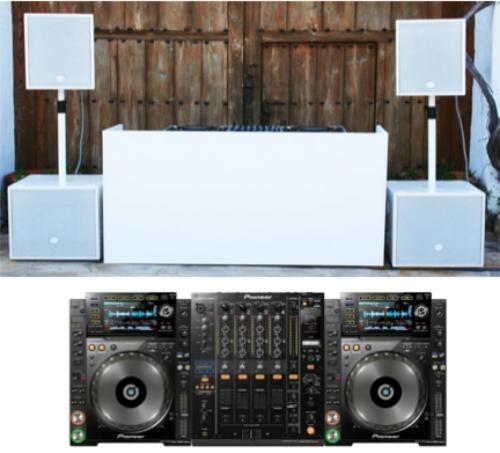 DJ Pack - White Void Basys System with Pioneer Cdj2000's & DJM900