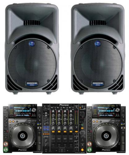 DJ Pack Mackie SRM450 + Pioneer 850's