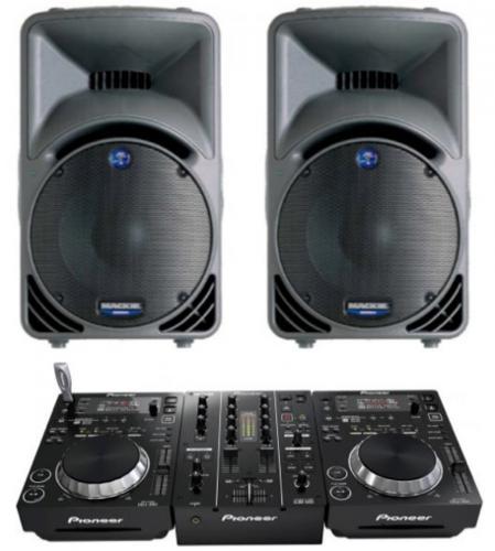 DJ Pack Pioneer 350 & Mackie 450