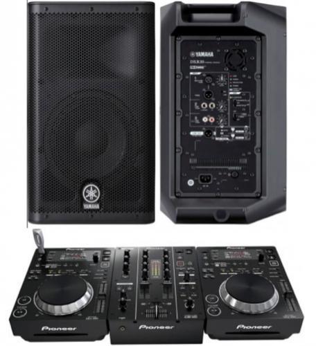 DJ Pack Pioneer 350 & Yamaha DXR10