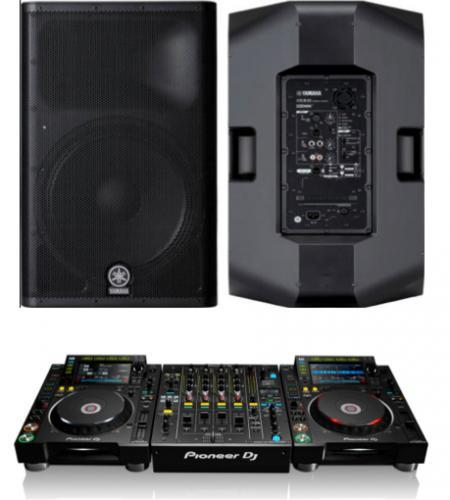 DJ Pack Yamaha DXR15 & Pioneer NXS2 set