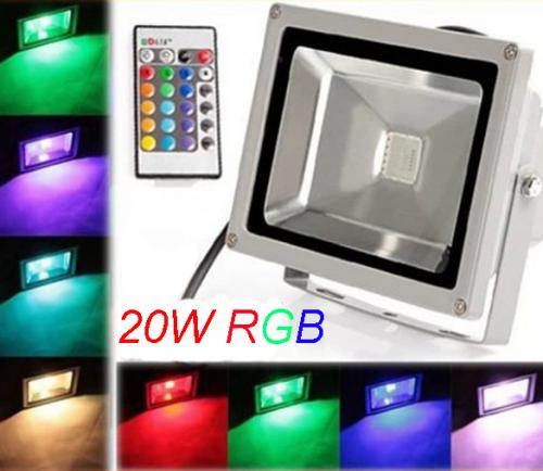 Flood: Garden Wash 20w LED RGB