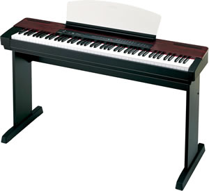 Keyboard: Yamaha P120 stage piano