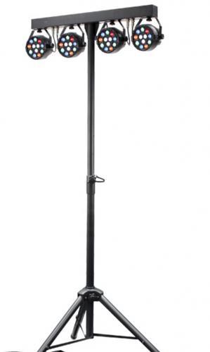 PAR: T bar with 4 mini LED par