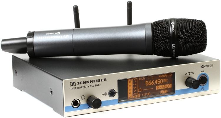 Mic:Sennheiser EW500
