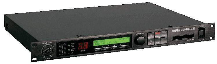 Electronics: Yamaha SPX990
