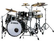 Drums/Percussion: Yamaha Maple custom drum kit